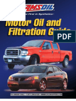 Motor Oil and Filtration Guide