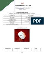 6.003.09-PIÑON PLASTICO BIPARTIDO Z21-DF40