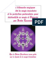Rituel de protection magique  des pentacles