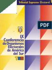 2002  IX Conferencia de organismos Electorales de América del Sur