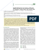 Analysis of Phenolic Compounds