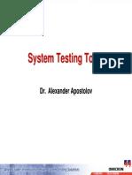 02_System Testing Tools