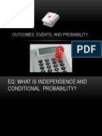 outcomes events and probability