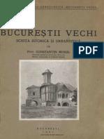 Bucureştii Vechi - Schiţă Istorică Şi Urbanistică