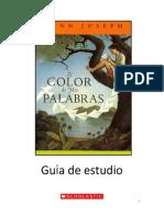 19510536 Guia de La Lectura El Color de Mis Palabras