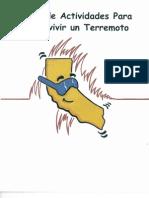 Libro de Actividades Para Sobrevivir Un Terremoto - Ninos