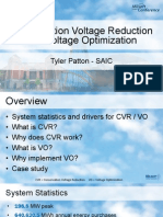 2013 UC Voltage Optimization and CVR Case Study - Tyler Patton