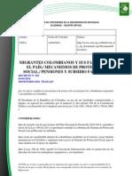 Doc. 575 MIGRANTES COLOMBIANOS Y SUS FAMILIAS EN EL PAÍS. MECANISMOS DE PROTECCIÓN SOCIAL.pdf
