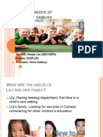 Meeting the Needs of Children and Families by Heejae Lee