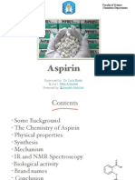 Aspirin (Synthesis and Mechanism)