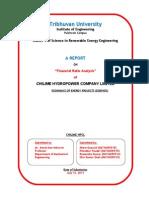 Financial Ratios Analysis Report-SKS