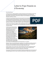 An Open Letter to Pope Francis on the Ethical Economy V2