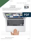 Apple - Multi-Touch Gesten - Steuer deinen Mac noch natürlicher.