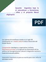 La Educacion Argentina 1880-1916