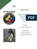 De La Comision de Transito Margarita Palma