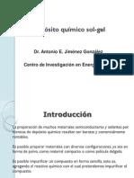 Técnica de Depósito Químico Sol-gel (Antonio E. Jiménez)