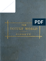 The Occult World - A. P. Sinnett