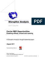 Disruptive Analysis Carrier WiFi