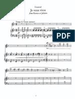 Gounod - Romeo Et Juliette - Je Veux Vivre (Juliette)