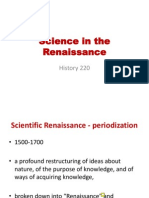Science in the Renaissance_Hist220