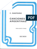 4 Canciones de Guastavino