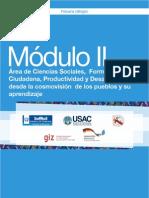 2 Módulo2 Área de Ciencias Sociales, Formación Ciudadana-Desd La Cosmovisión de Los Pueblos y Su Aprendizaje