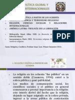 1.Religión, Política Global y Relaciones Internacionales