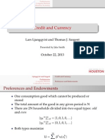 Sargent, T. (PPT) - Credit & Currency PPT
