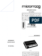 Micromoog Manual