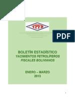 Estaditica de Comercializacion de Hidrocarburos 2013