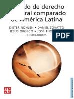 2007 Tratado de Derecho Electoral comparado de América Latina. Estadistica Electoral