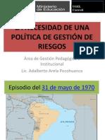 Educacion Ambiental PREVAED 068