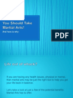 you should take martial arts