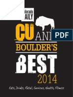 CU and Boulder's Best 2014