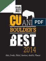 CU and Boulder's Best 2014