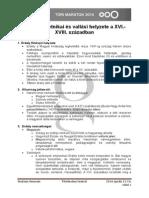 12. Erdély Sajátos Etnikai És Vallási Helyzete a XVI - XVIII. Században- Tomi.docx