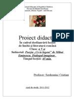 Proiect Eminescu 5