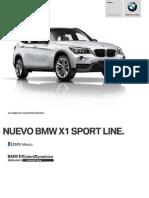 Ficha Tecnica BMW X1 SDrive20iA Sport Line (Automatico) 2014