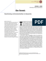 CEPEK, Michael L. Foucault in the Forest - Questioning Environmentality in Amazonia
