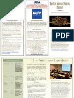 2013 sawp brochure
