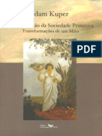 A Reinvenção Da Sociedade Primitiva - Adam Kuper. [Caps 1 e 2]