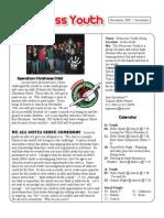 New Newsletter November 2009