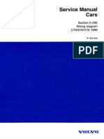 TP3941202 C70 S70 V70 1999 Wiring Diagrams