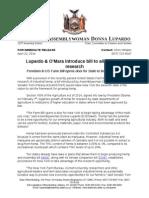 Lupardo & O'Mara introduce bill to allow hemp research