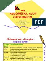 abdomenul acut chirurgical
