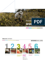 Informe de Gestión Fondo Patrimonio Natural 2013