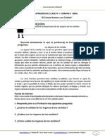 Guia Cnaturales 1basico Semana6 El Cuerpo Humano y Sus Cuidados Abril 2013