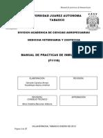 F1116 Manual de Practicas de Inmunologia