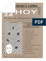 1996 America Latina Hoy. Las elecciones presidenciales en Perú