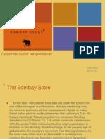 CSR - The Bombay Store